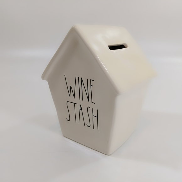 Rae Dunn Other - Rae Dunn Wine Stash Birdhouse Piggy Bank